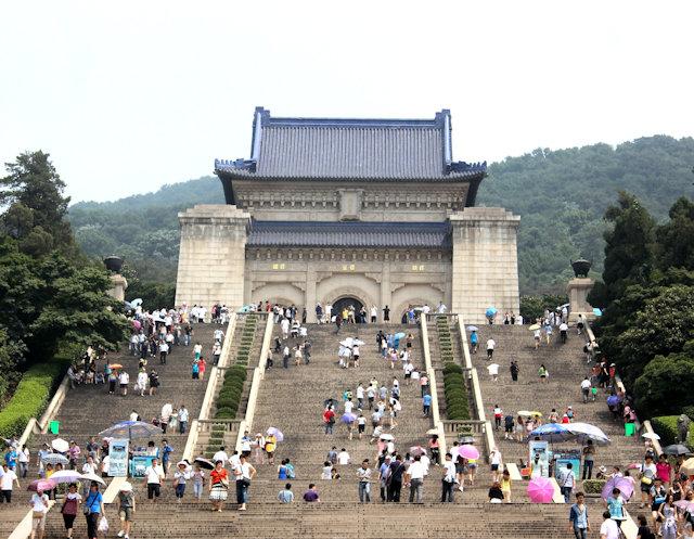 nanjing_sun yatsen mausoleum