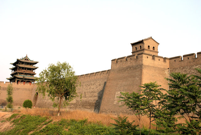 pingyao_city wall and north tower