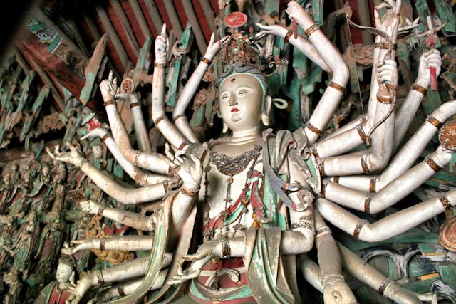 qiaotou_shuanglin temple