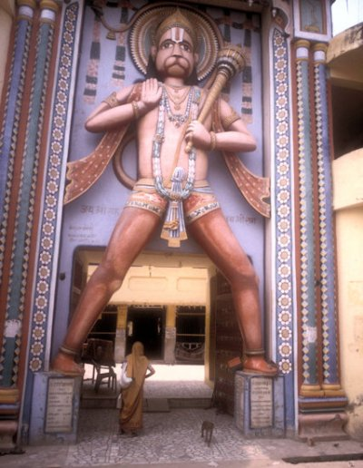ayodhya_bade hanuman temple