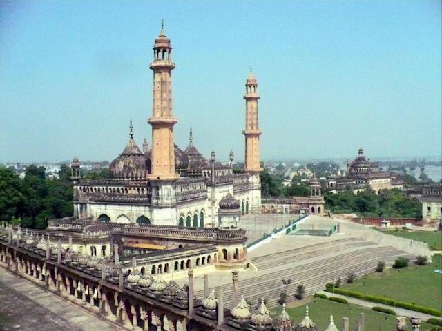 lucknow_bara imambara complex_asafi mosque
