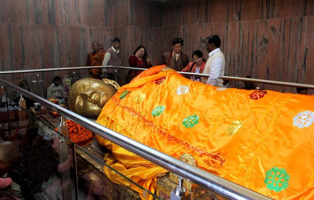 kushinagar_buddha image