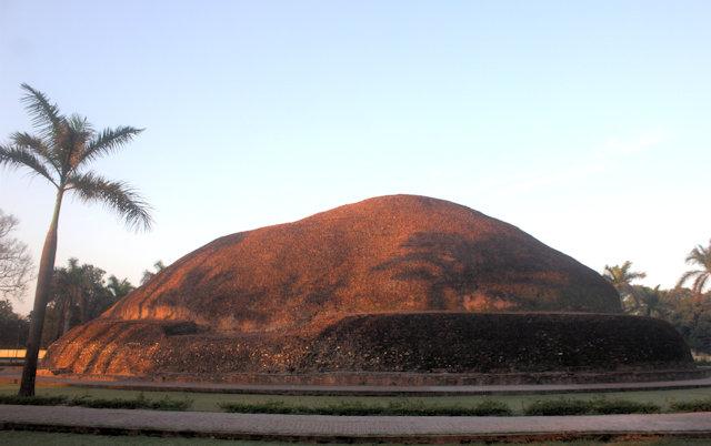 kushinagar_ramabhar stupa