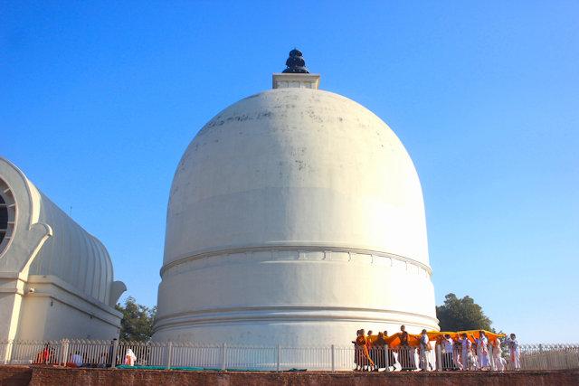 kushinagar_stupa