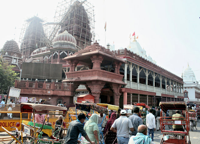 lal mandir and gaurishankar temple