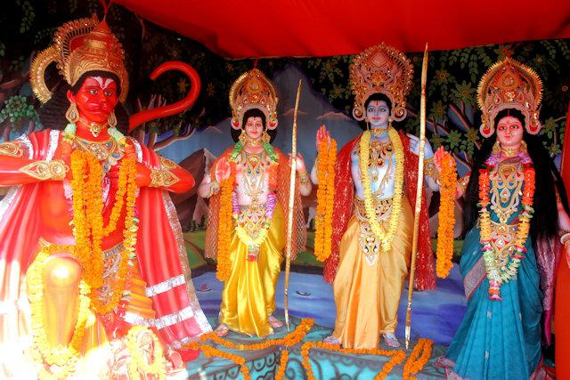 religious tableaux