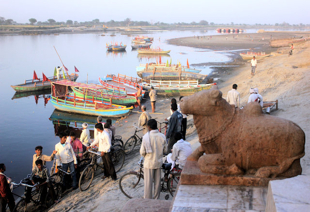 vrindavan_bathing ghats
