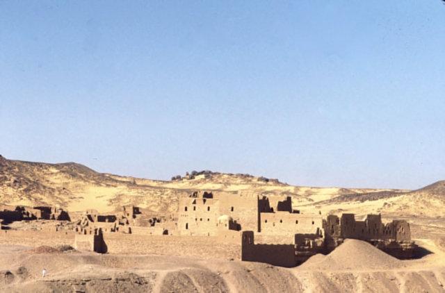 aswan_st simeon monastery