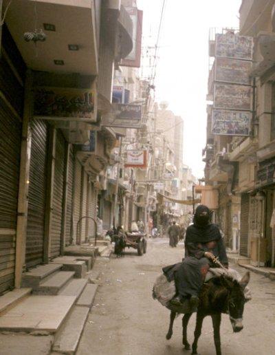 fayoum_medinat al-fayoum_street scene