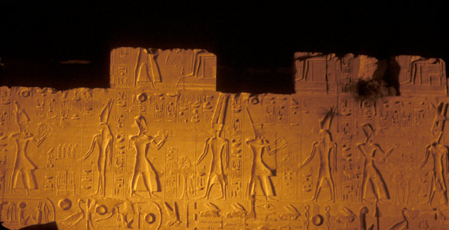 luxor_karnak temple_night illumination
