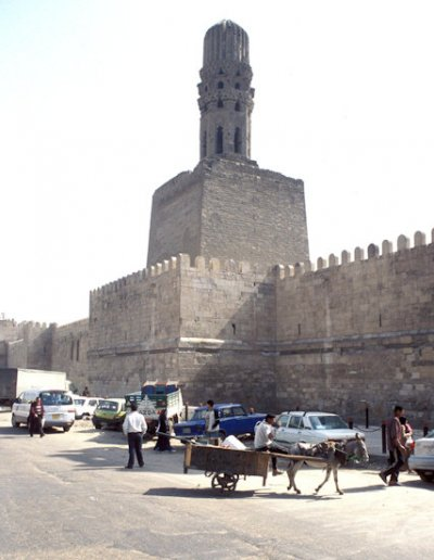 northern wall and minaret of al-hakim mosque