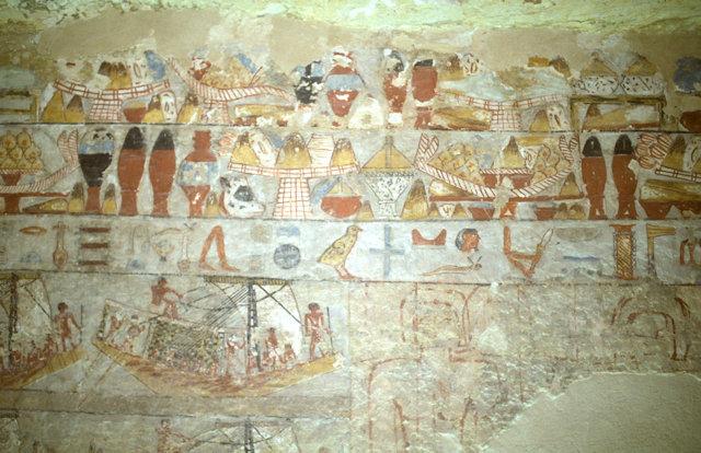 saqqara_outlying tomb_fresco