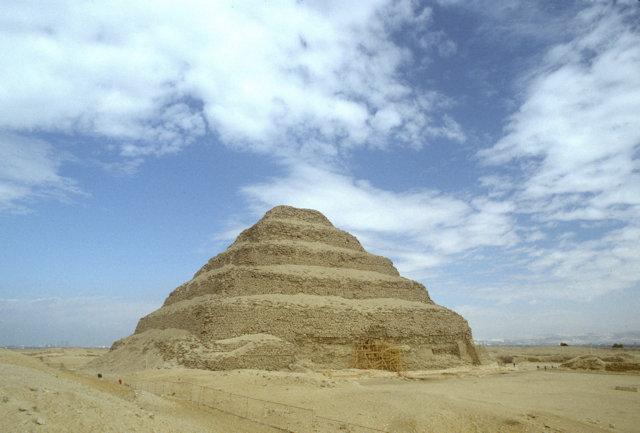 saqqara_step pyramid of zoser