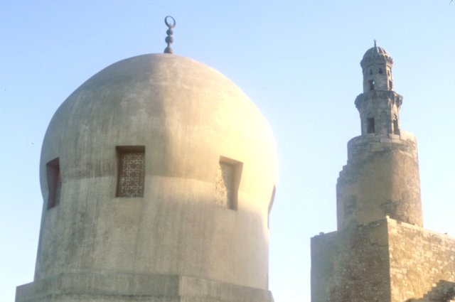 sarghatmish mosque_dome and minaret of ibn tulun mosque