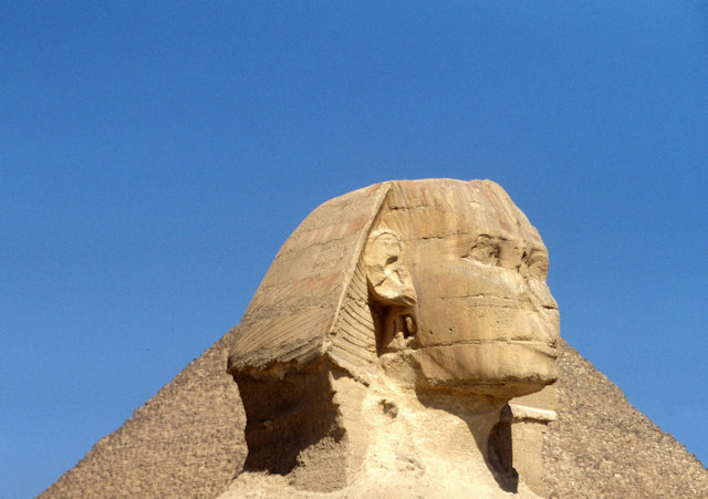 sphinx and pyramid of cheops_4