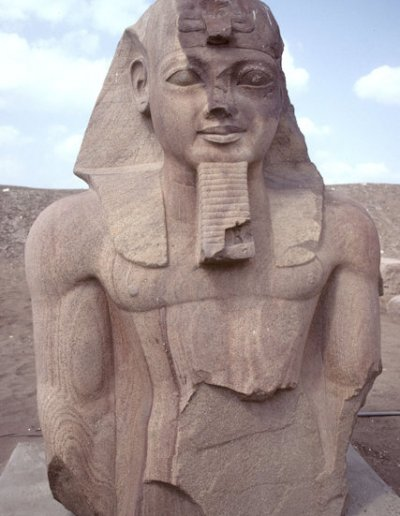 tanis_bust of pharaoh