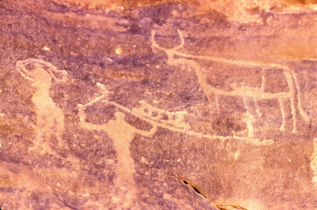 jebel uweinat_karkur talh_rock painting