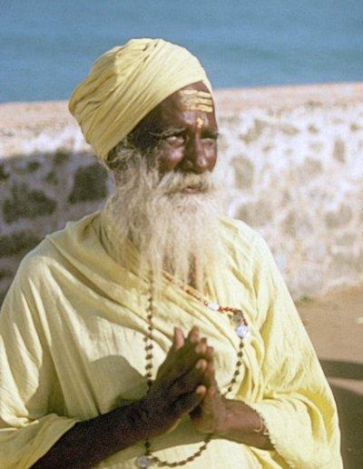 kanya kumari_hindu swami