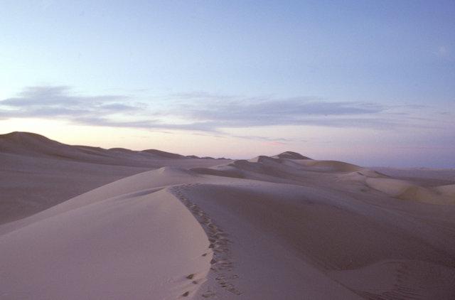 sand sea_dunes at dusk_4