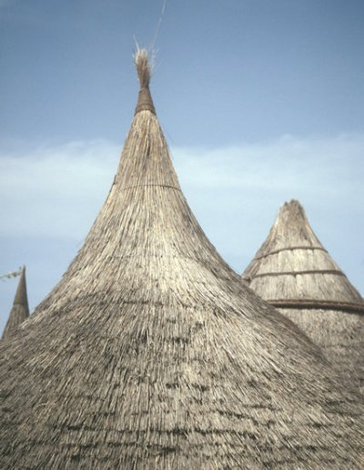 tourou_thatched roofs