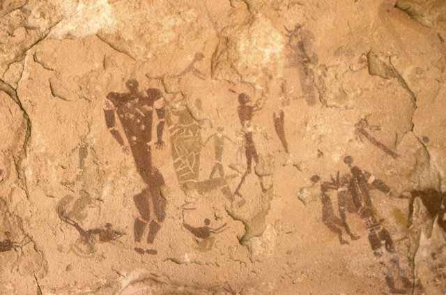 wadi sura_cave of the bathers_2