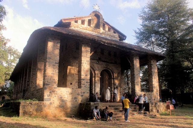 gondar_debre birhan selassie church