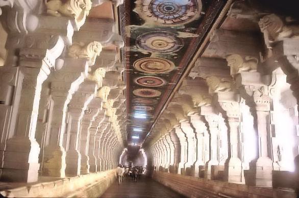 rameshvaram_ramanathaswamy temple_thousand pillared hall