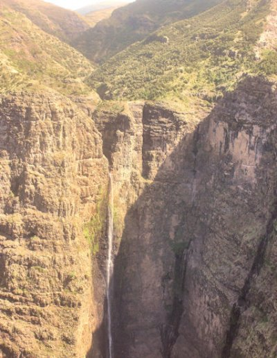 simien mountains_waterfall