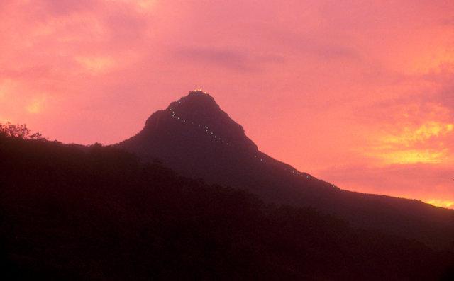 adam's peak_sunset