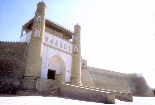 bukhara_ark_entrance gate