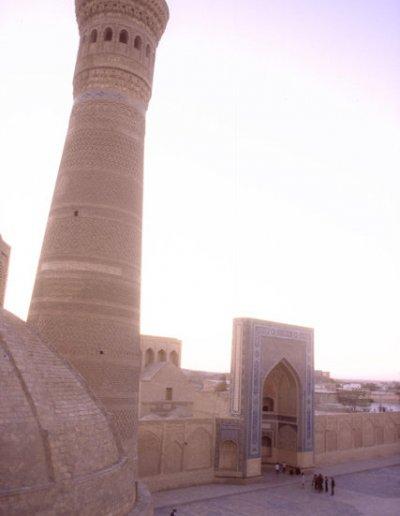 bukhara_kalon mosque and minaret_2