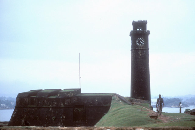 galle_ramparts and clock tower