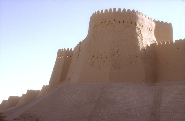 khiva_ichan kala_city wall