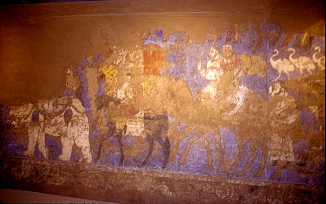 samarkand_afrosiab museum_sogdian mural_2