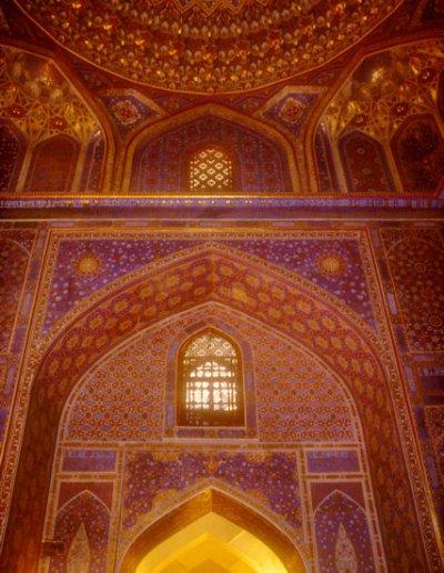 samarkand_registan ensemble_tillya kari madrassah_mosque
