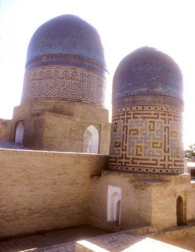 samarkand_shah-i-zinda ensemble_qazi zadeh rumi mausoleum