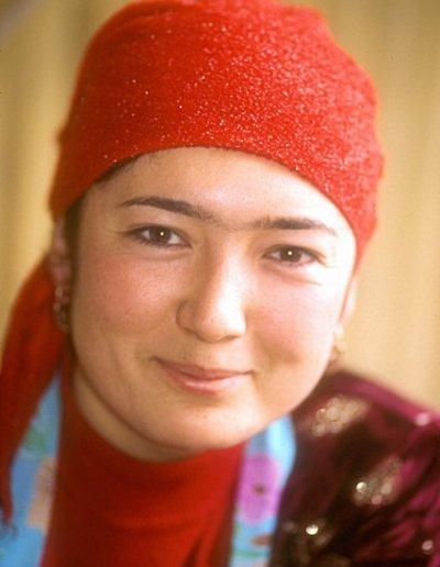 samarkand_young uzbek woman