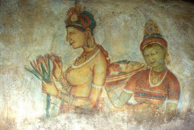 sigiriya_damsels fresco