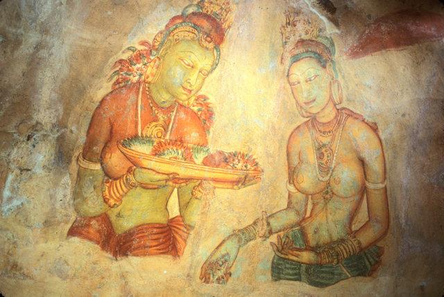 sigiriya_damsels fresco_2