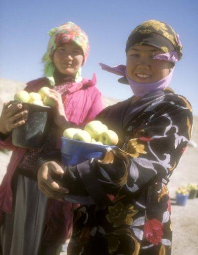 surkhandarya region_apple sellers
