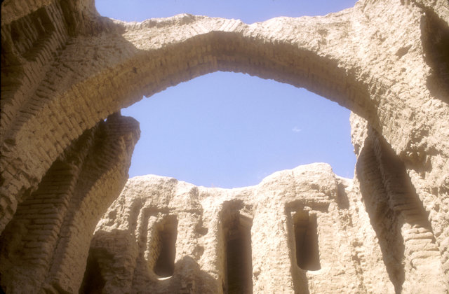 termez_kyrk kyz fortress_ruins
