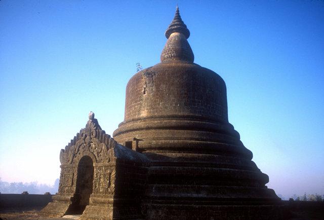 mrauk-u_hilltop pagoda