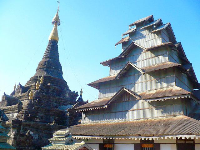mrauk-u_lokamanaung pagoda