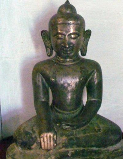 mrauk-u_museum_buddha image