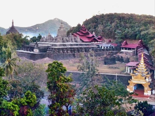 mrauk-u_shittaung pagoda