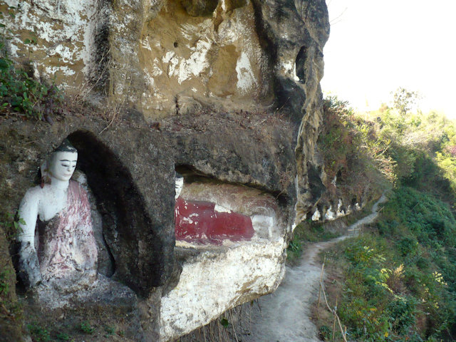 myanaung_gautama hill_buddha images