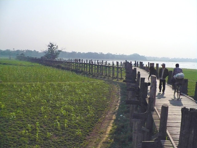 amarapura_u bein bridge