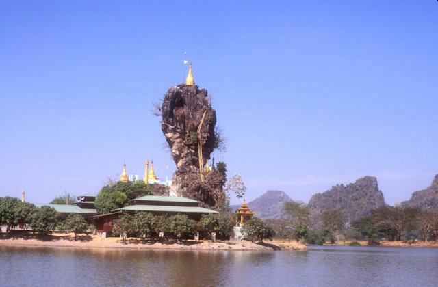hpa-an_kyaut kalatt pagoda