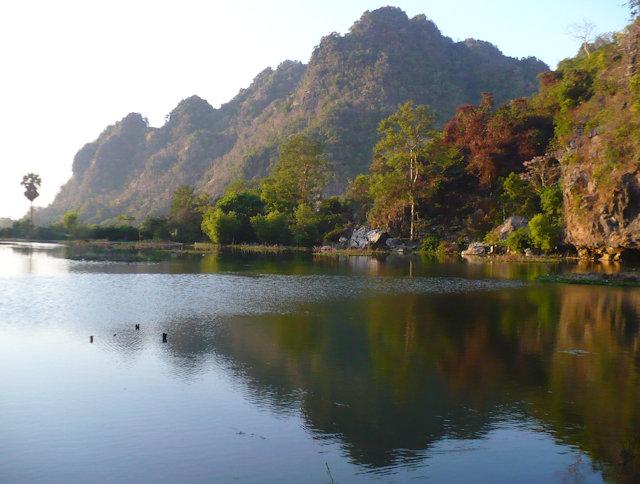 hpa-an_lake view