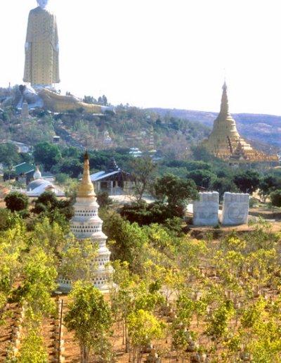 monywa_alantaye pagoda_view from bodhitataung pagoda_2